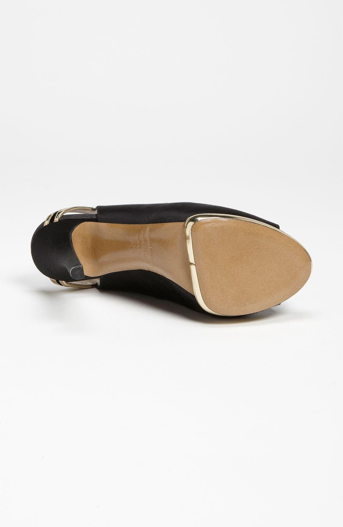 Alternate Image 4  - Nicholas Kirkwood Peep Toe Sandal