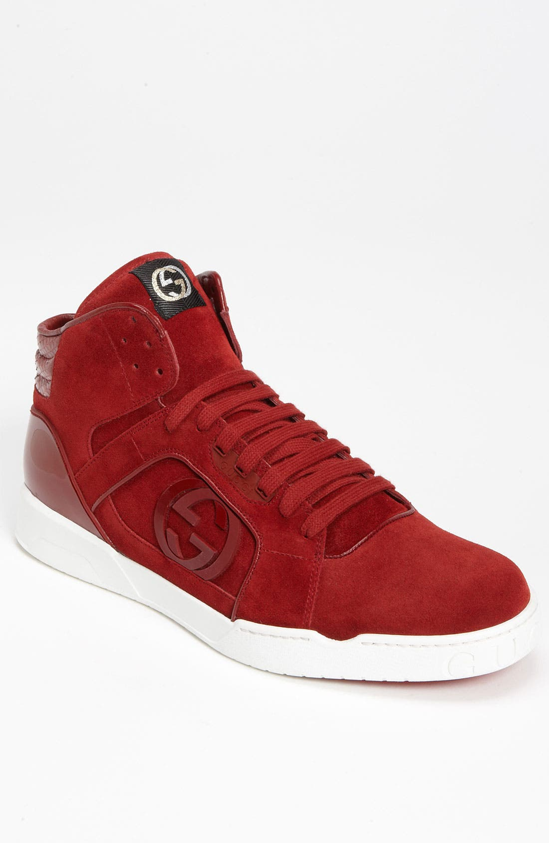 Alternate Image 1 Selected - Gucci 'Rebound' High Top Sneaker