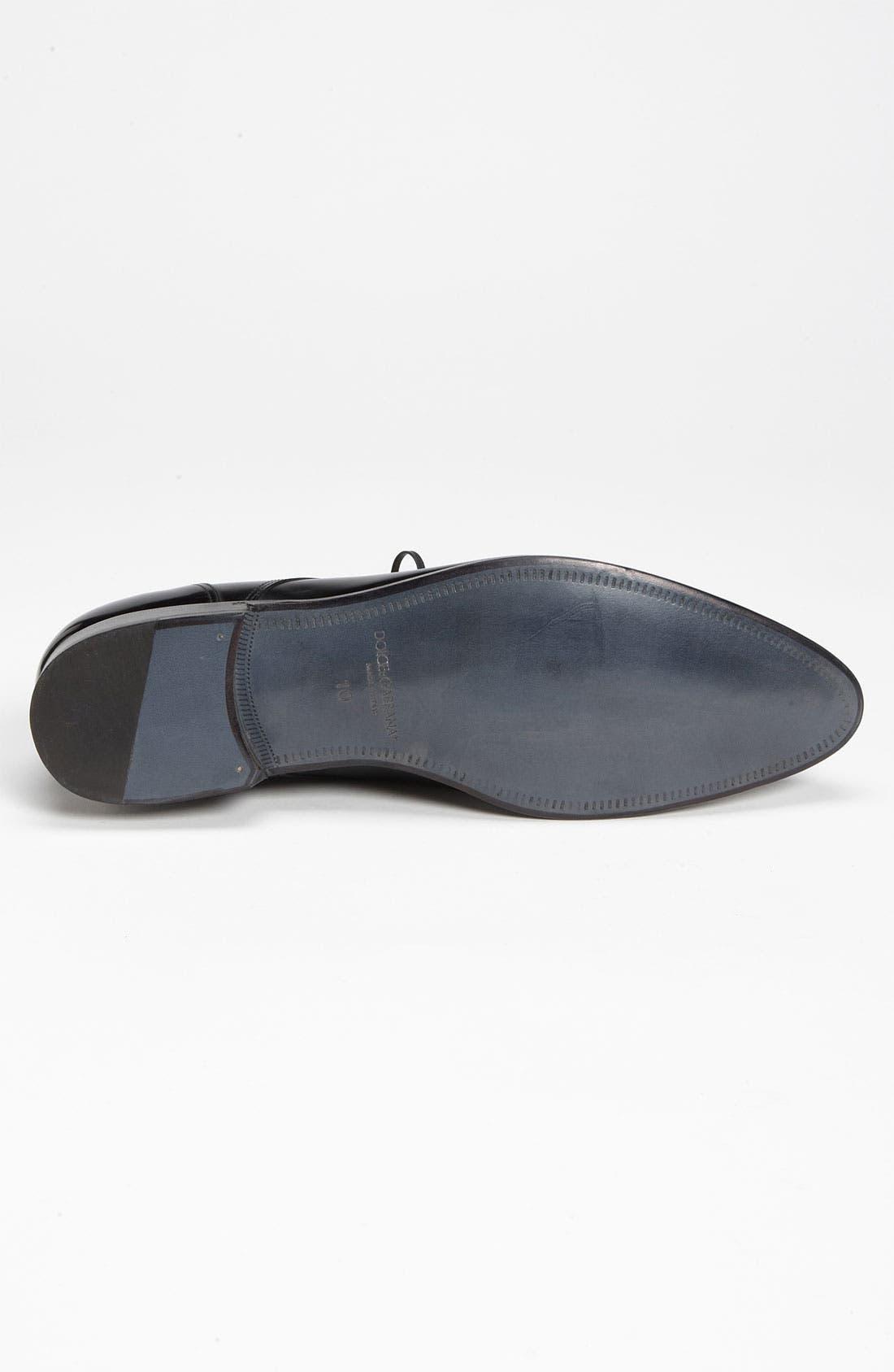 Alternate Image 4  - Dolce&Gabbana Plain Toe Derby