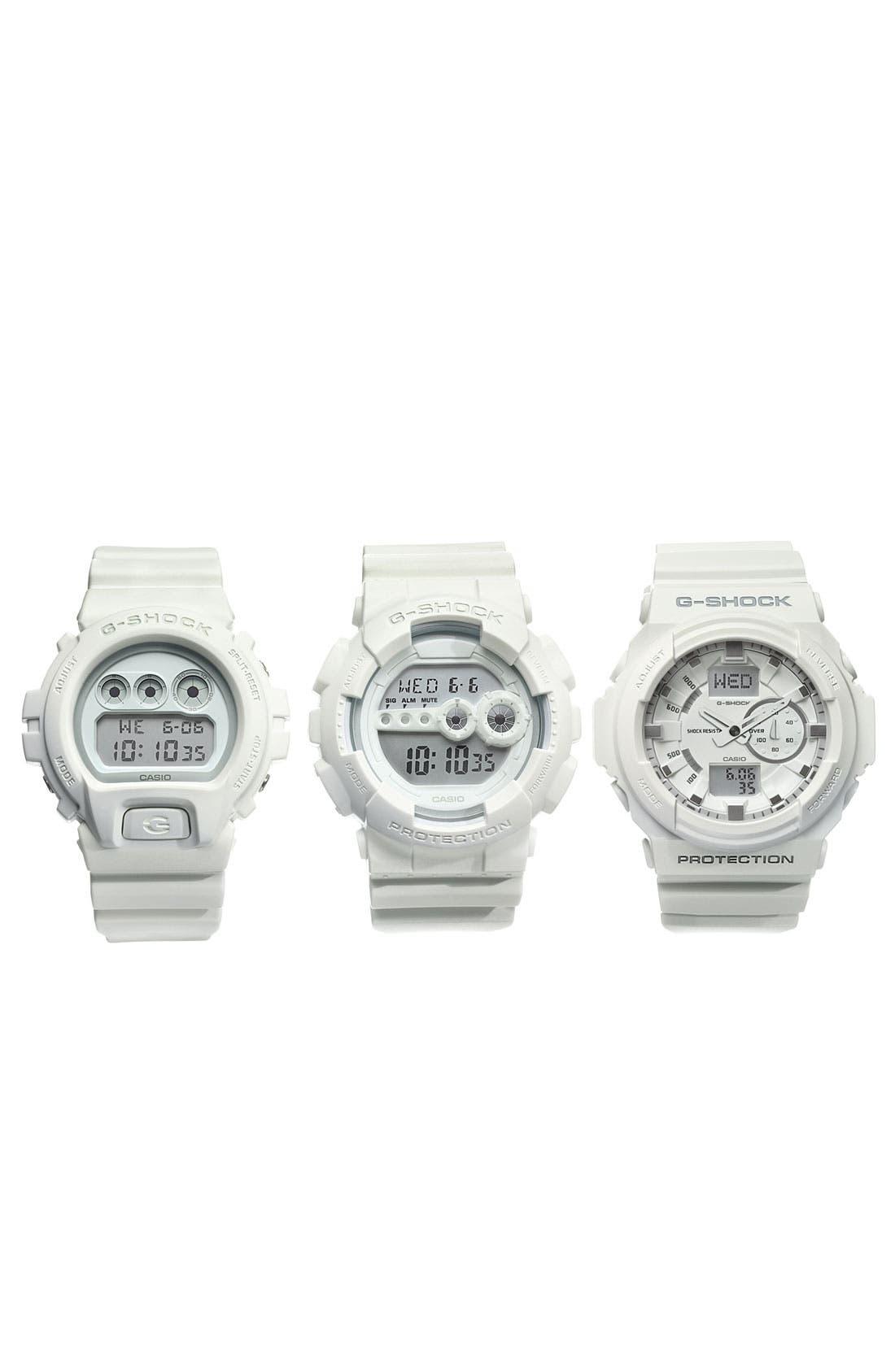 Alternate Image 2  - G-Shock 'Mirror Metallic' Digital Watch, 50mm