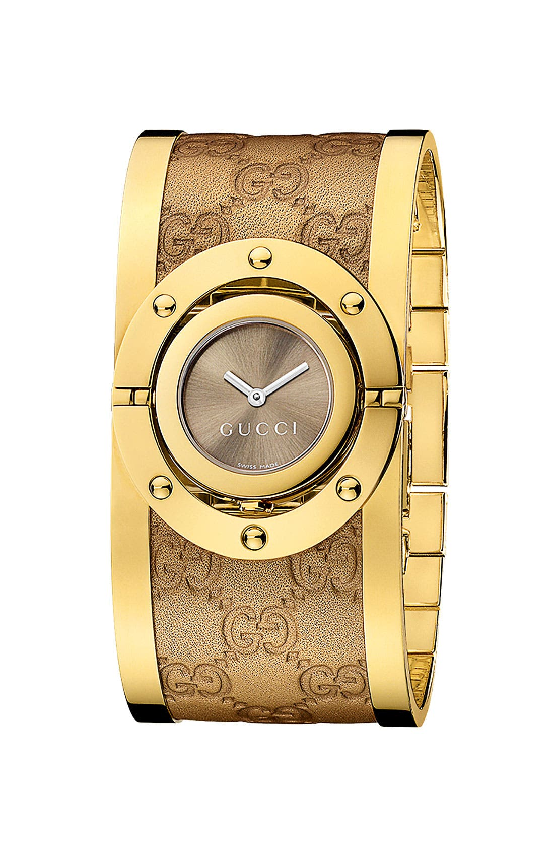 'Twirl Collection' Watch, 23mm,                         Main,                         color, Gold