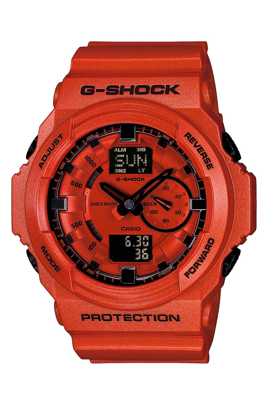Main Image - G-Shock Dual Movement Watch, 55mm x 52mm