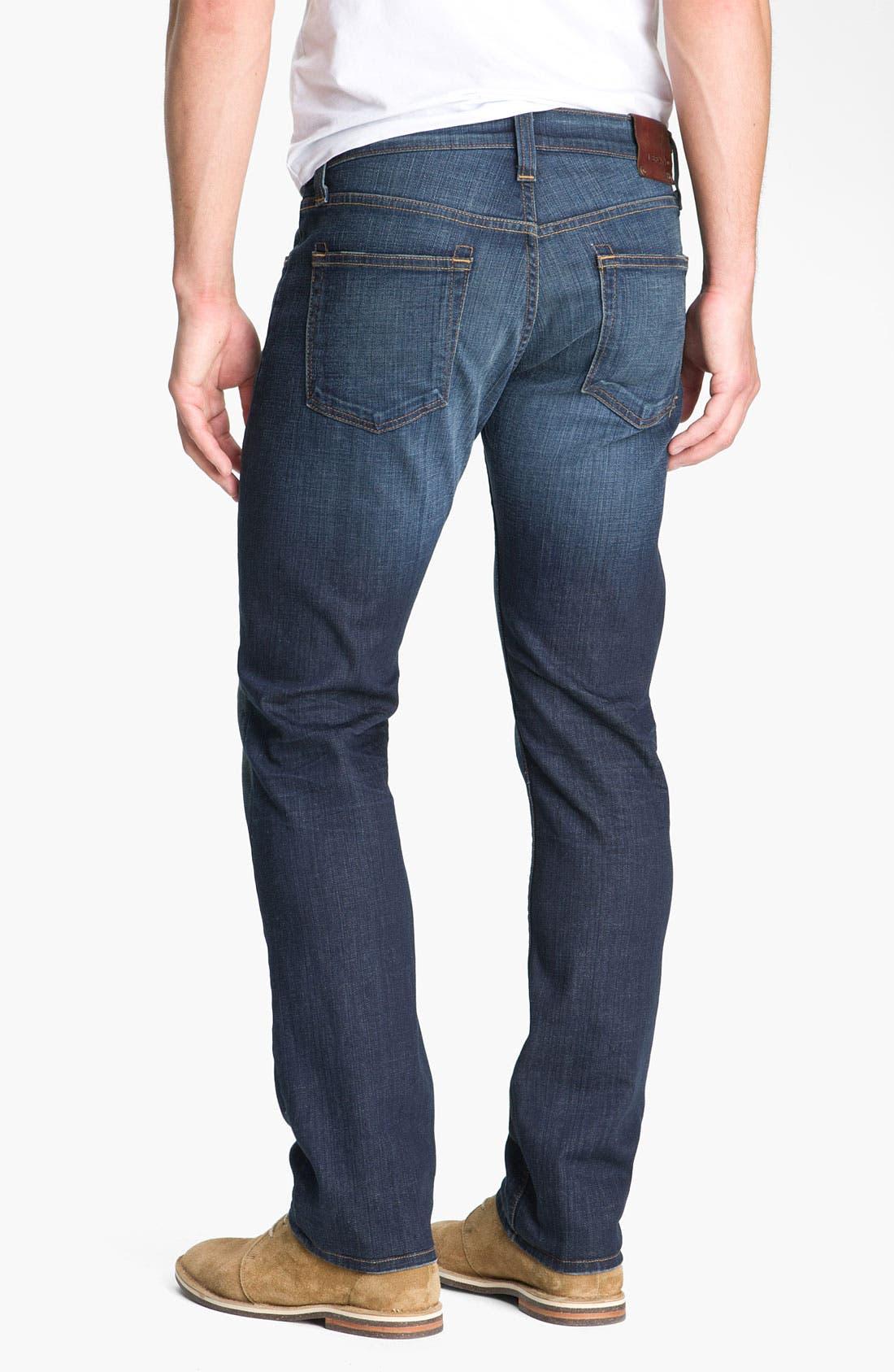 Alternate Image 1 Selected - J Brand 'Kane' Slim Straight Leg Jeans (Javelin)
