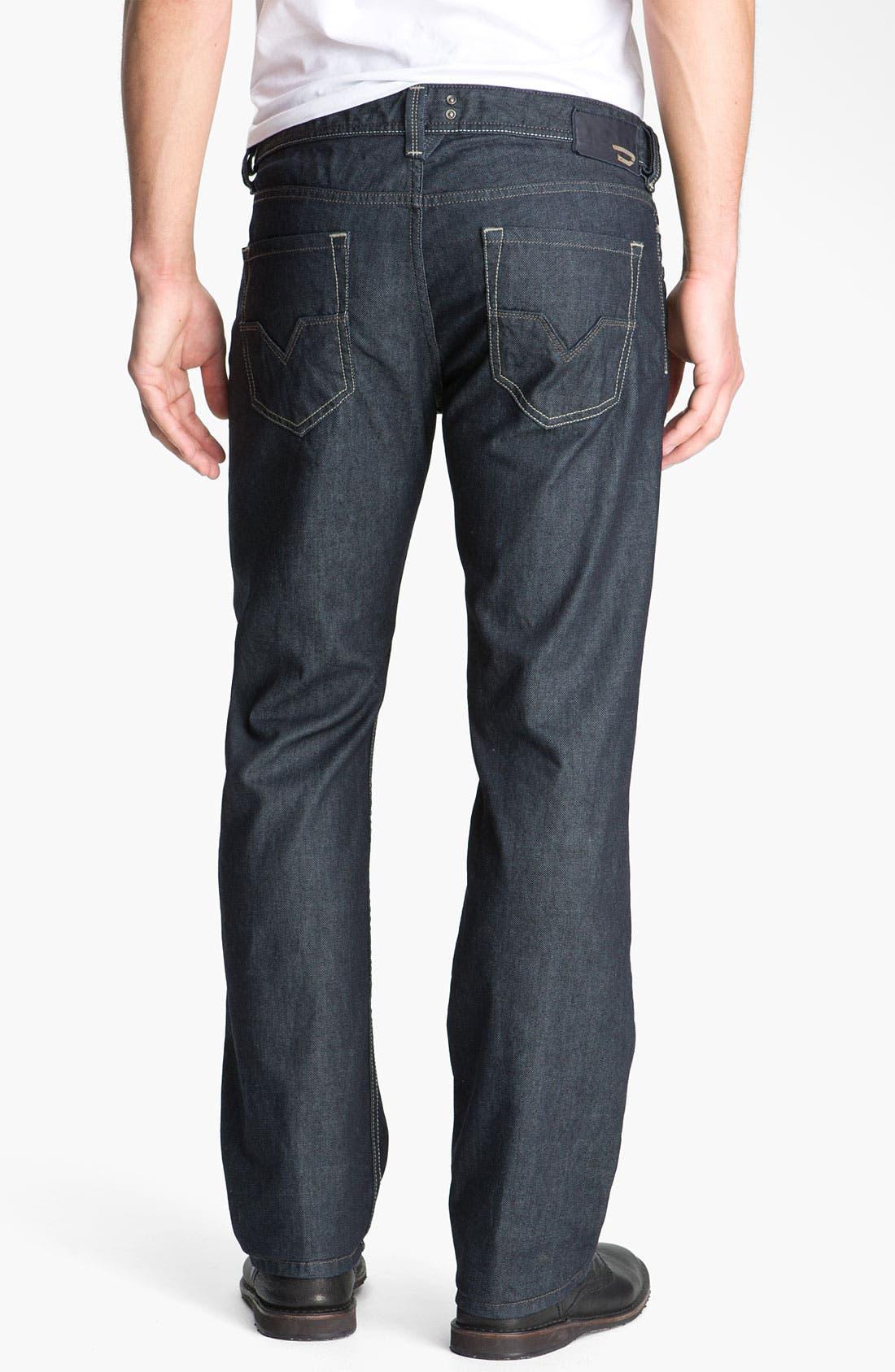 Alternate Image 1 Selected - DIESEL® 'Larkee' Straight Leg Jeans (88Z)