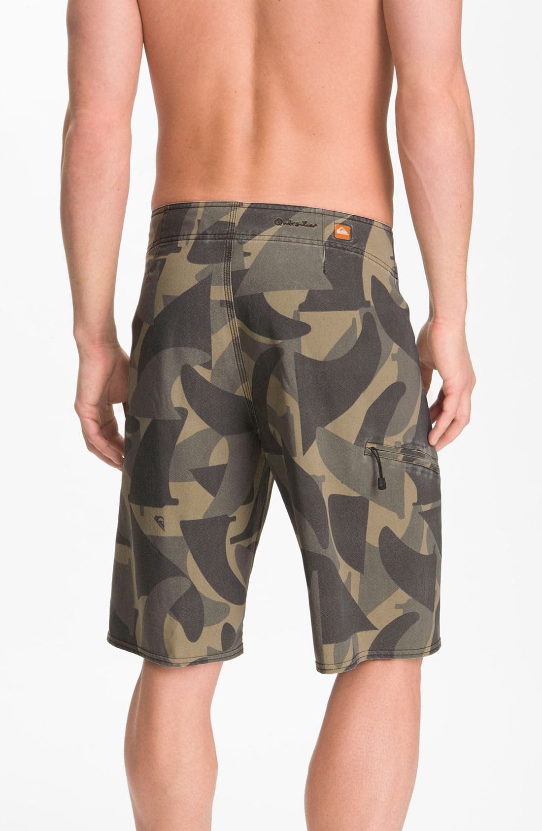 Alternate Image 2  - Quiksilver Waterman 'Camofin' Board Shorts