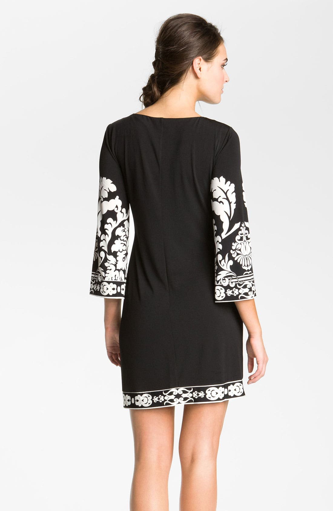 Alternate Image 2  - Donna Morgan Print Matte Jersey Dress