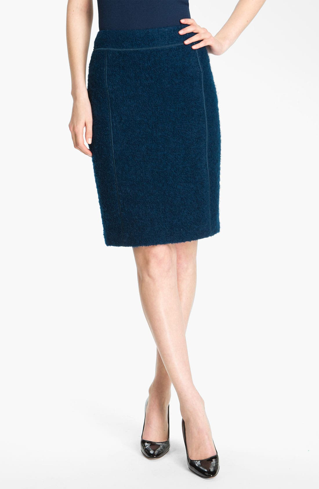 Alternate Image 2  - St. John Collection Bouclé Pencil Skirt