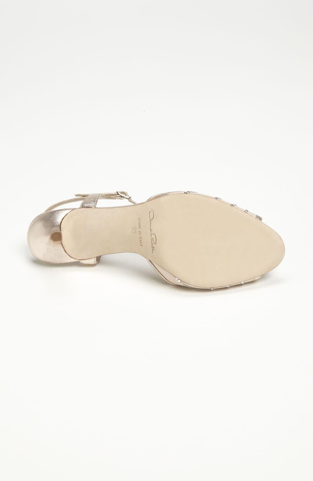 Alternate Image 4  - Oscar de la Renta 'Sienna' Sandal