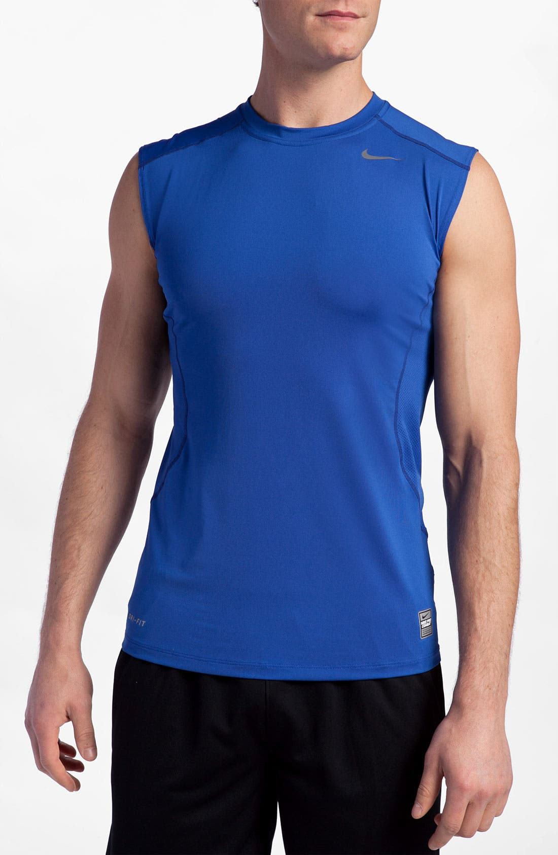Alternate Image 1 Selected - Nike 'Core Fitted SL 2.0' Sleeveless T-Shirt