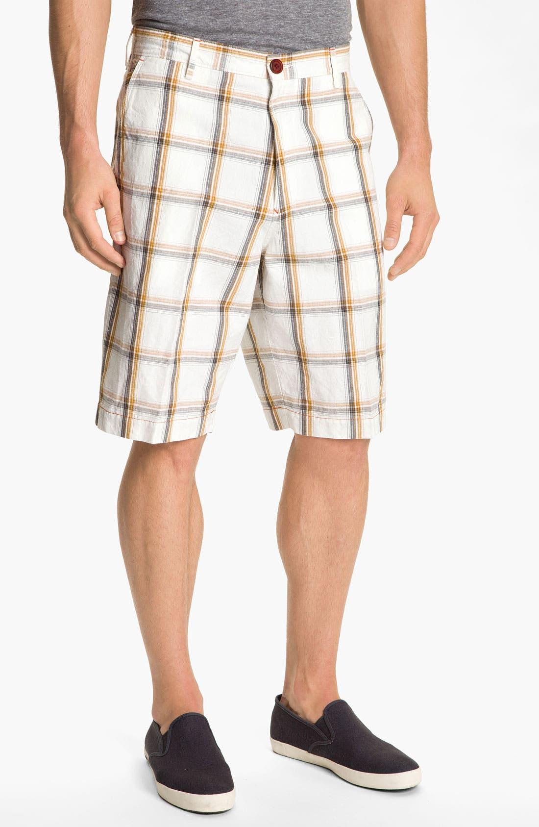 Alternate Image 1 Selected - Tommy Bahama 'Windowpane of Opportunity' Shorts