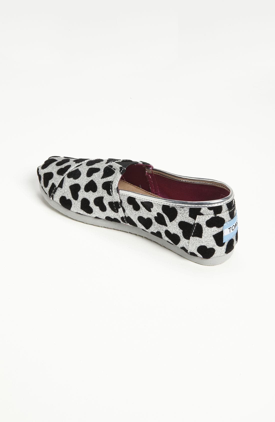 Alternate Image 2  - TOMS 'Classic Youth - Hearts' Slip-On (Toddler, Little Kid & Big Kid)