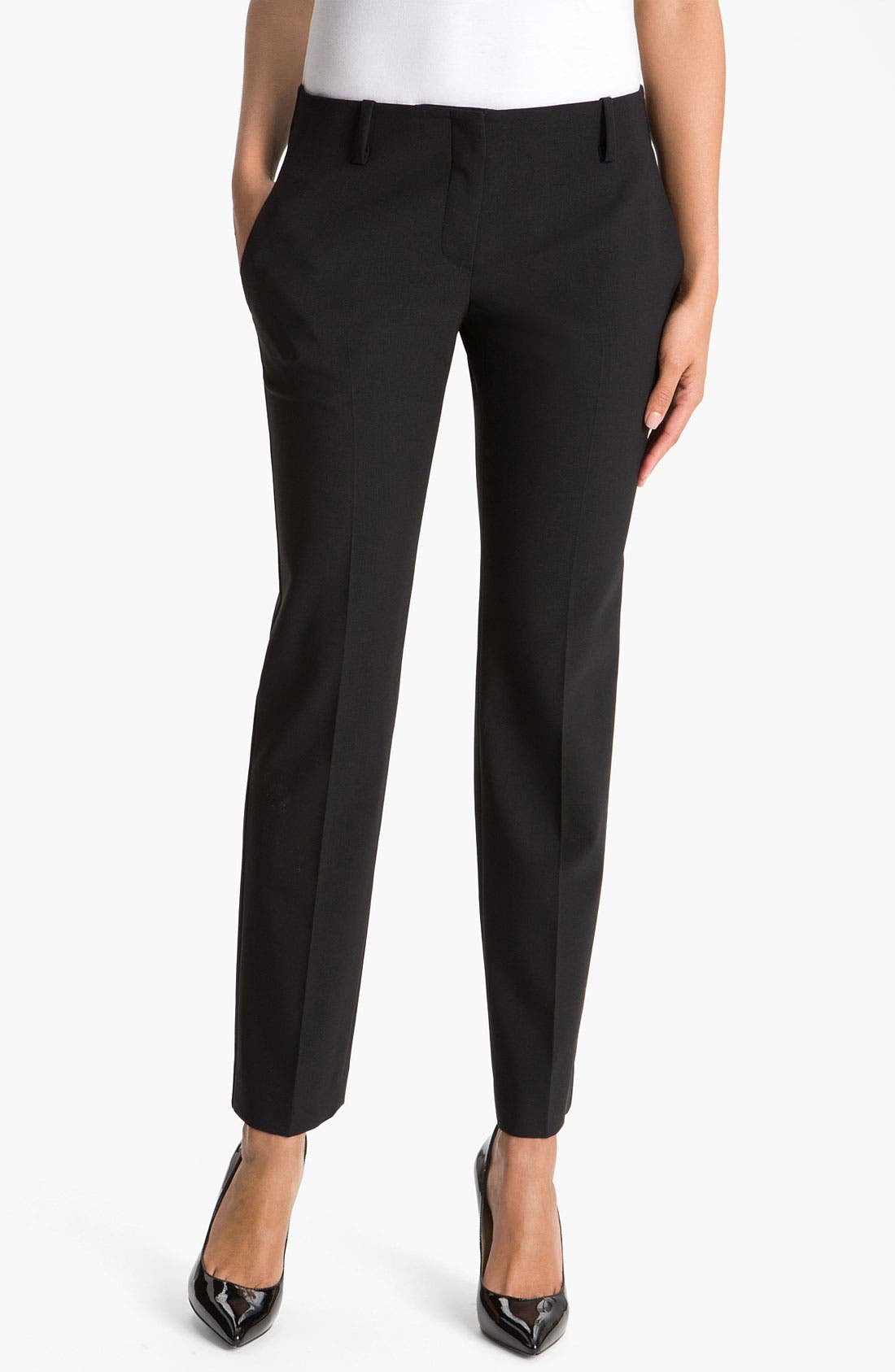Main Image - Theory 'Ines - Tailor' Suit Trousers
