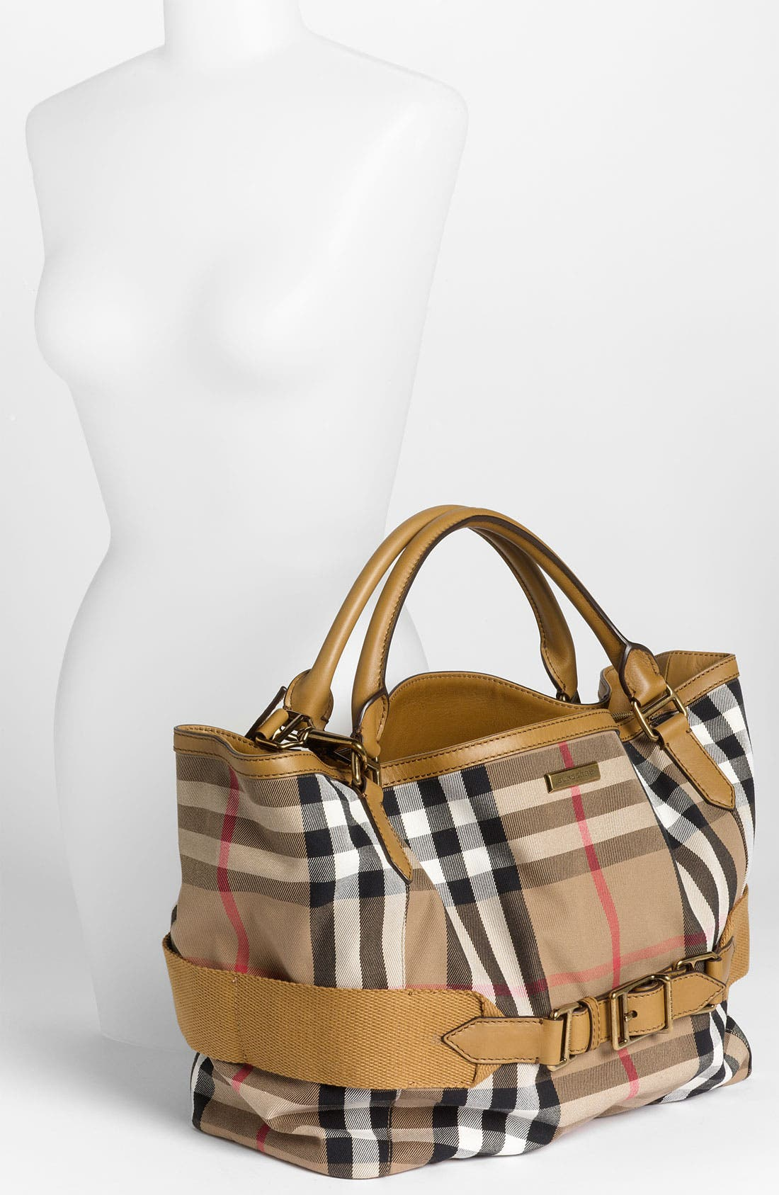 Alternate Image 2  - Burberry 'House Check' Fabric Tote