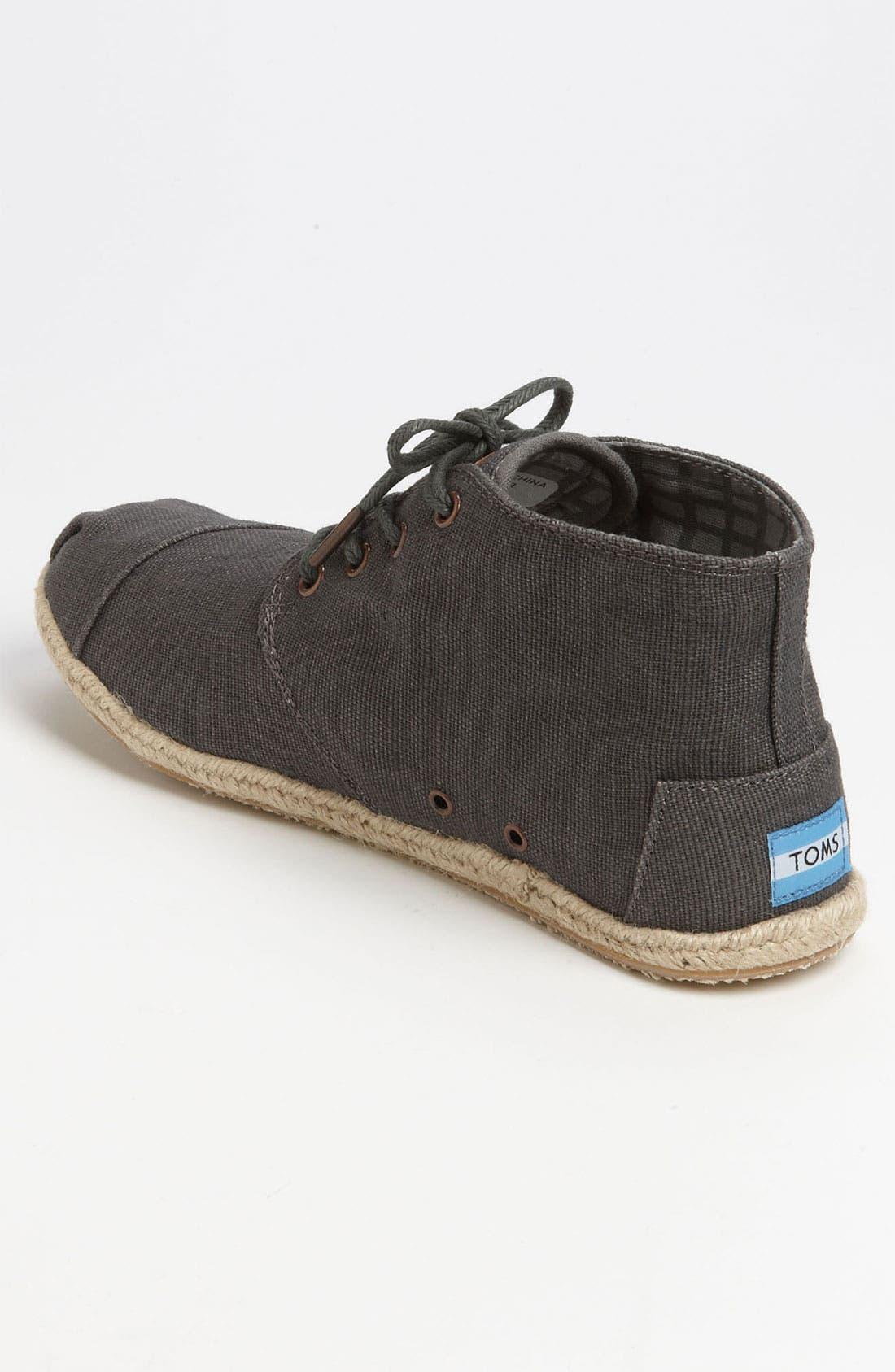 Alternate Image 2  - TOMS 'Botas - Desert' Burlap Chukka Boot (Men)