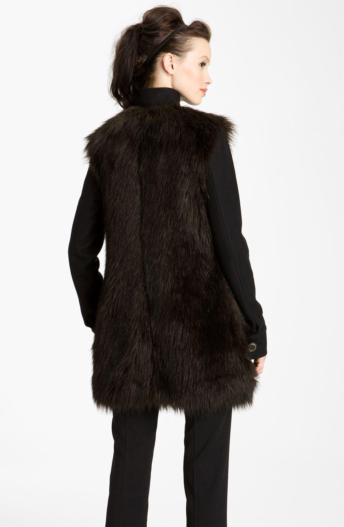 Alternate Image 2  - Rachel Zoe 'Marianna' Faux Fur Jacket