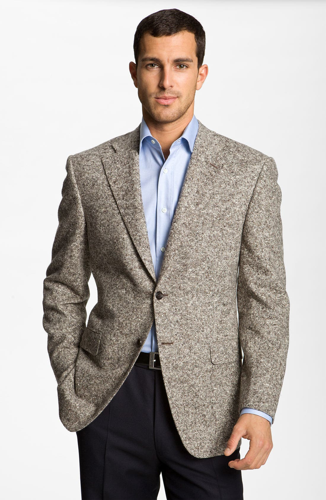 Alternate Image 1 Selected - Canali 'Donnegal' Sportcoat
