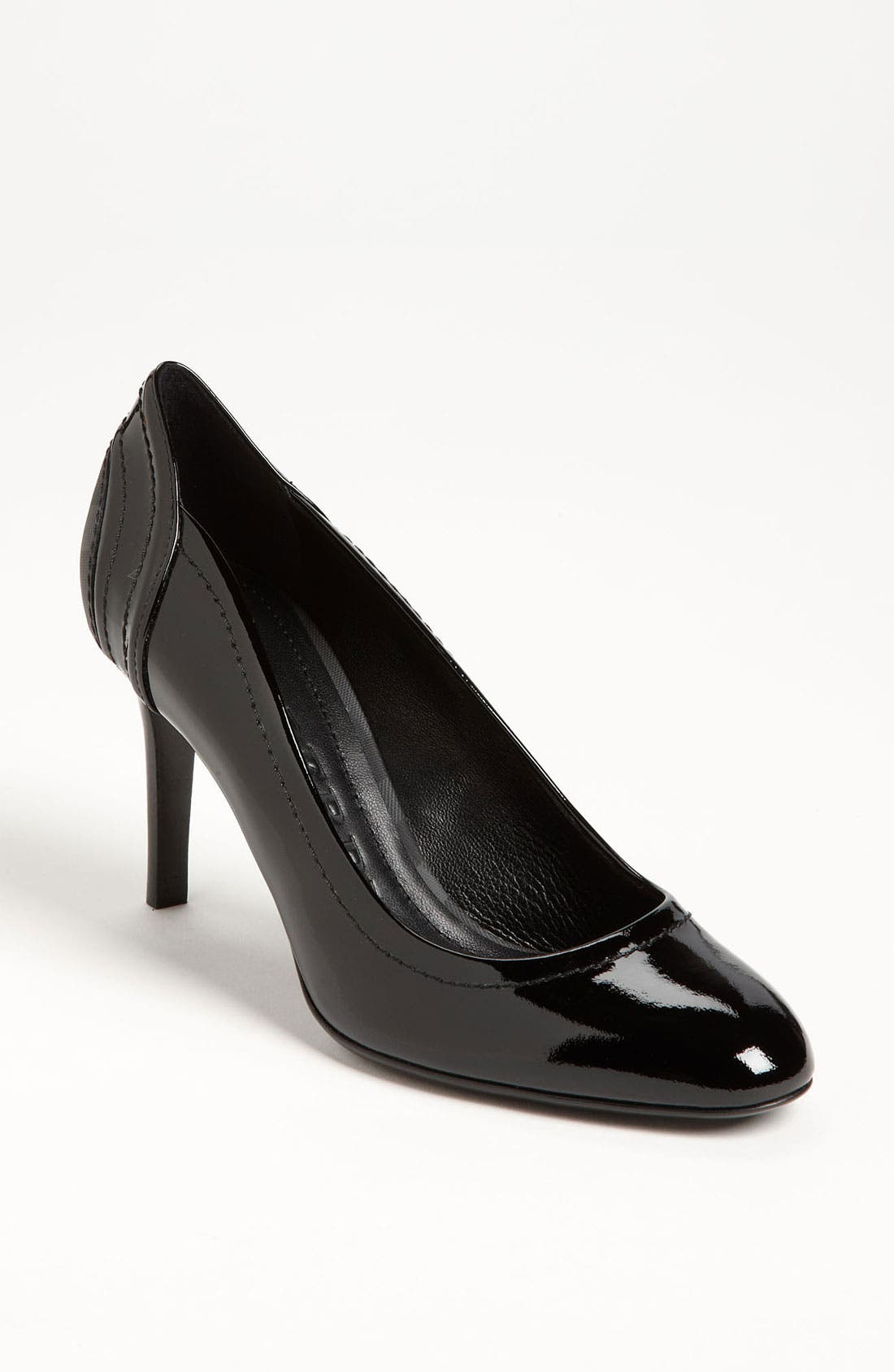Main Image - Burberry Patent Leather Pump
