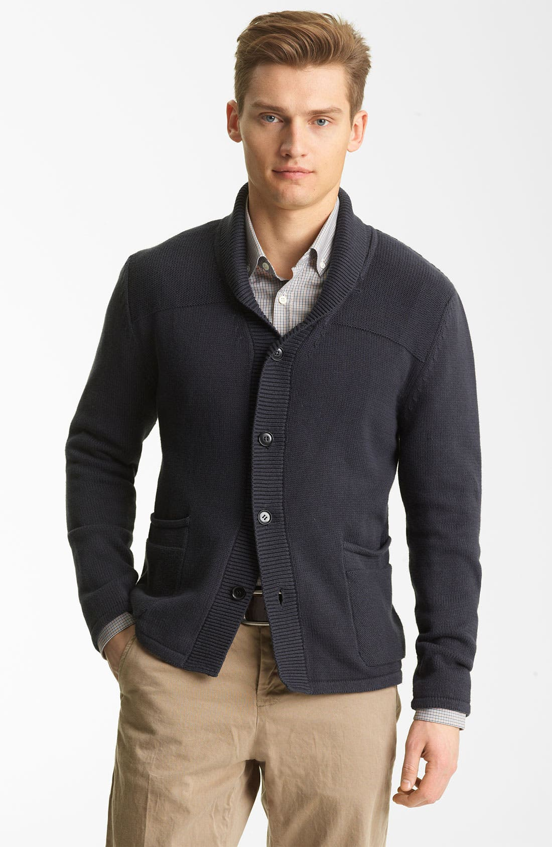 Alternate Image 1 Selected - Billy Reid 'Berwick' Cotton Cardigan