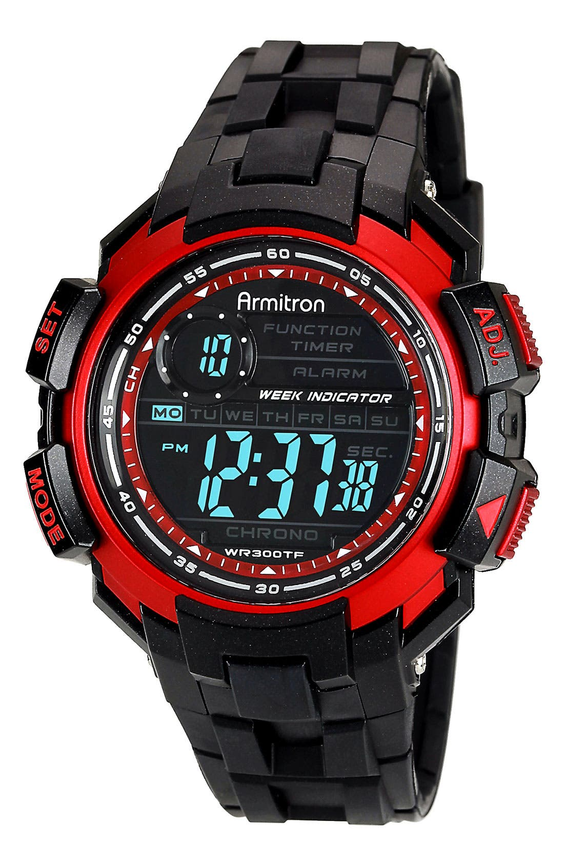 Alternate Image 1 Selected - Armitron Digital Resin Watch, 47mm