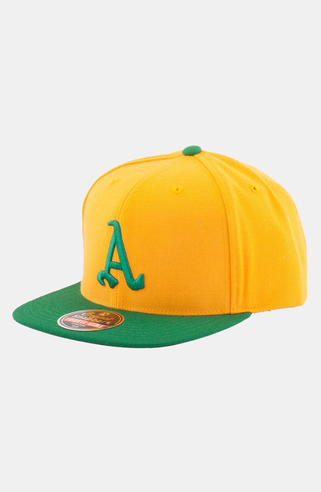 Alternate Image 1 Selected - American Needle 'Oakland Athletics - Cooperstown' Snapback Baseball Cap