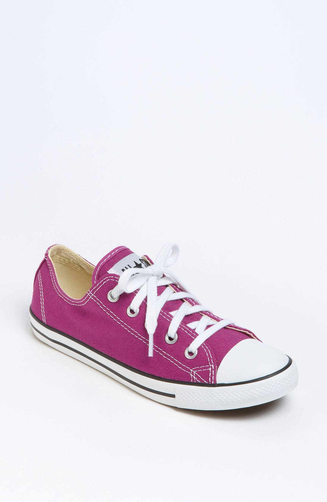 Chuck Taylor<sup>®</sup> 'Dainty' Sneaker,                             Main thumbnail 1, color,                             Deep Orchid