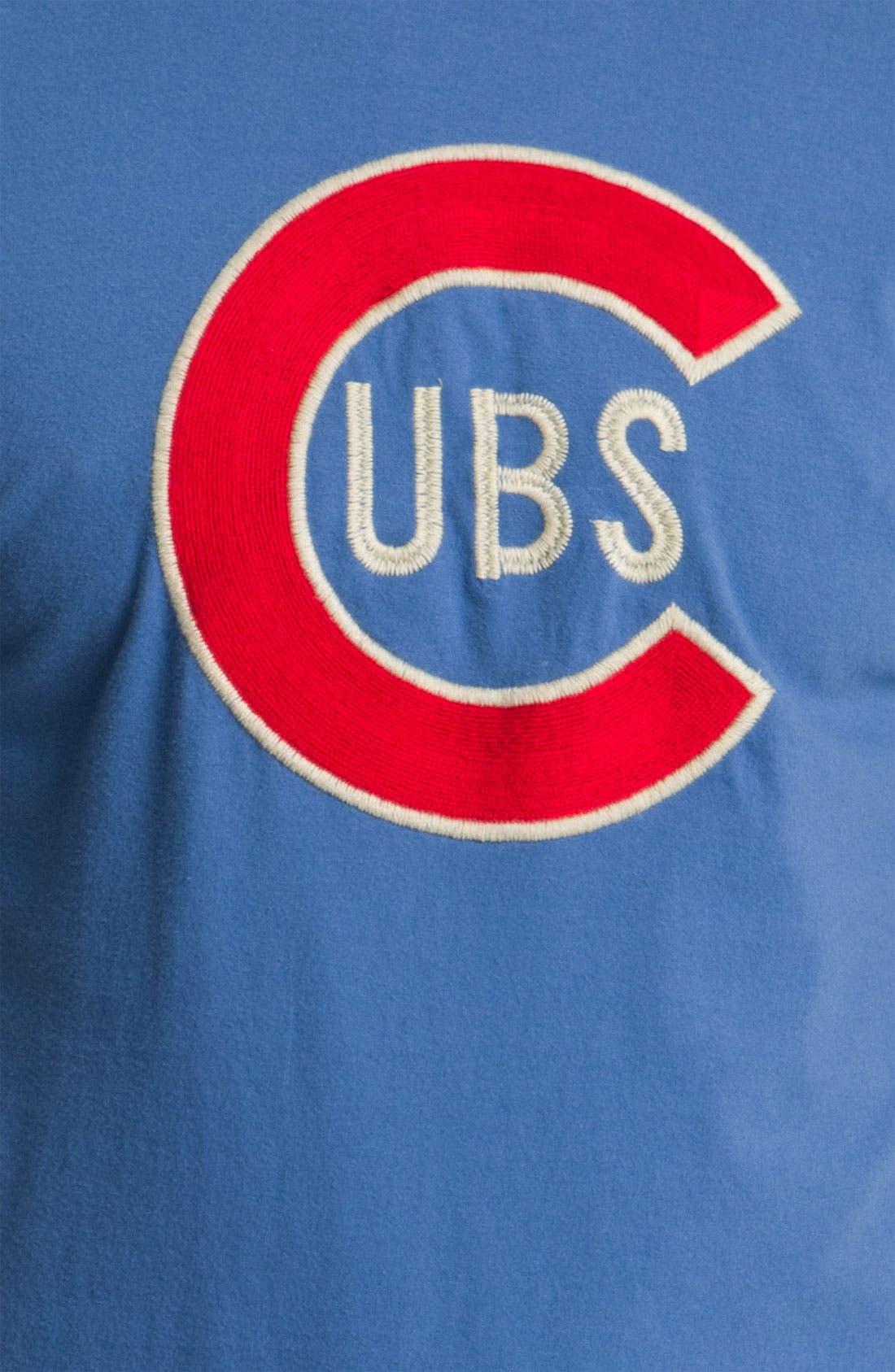 Alternate Image 3  - Red Jacket 'Cubs - Letterman' T-Shirt