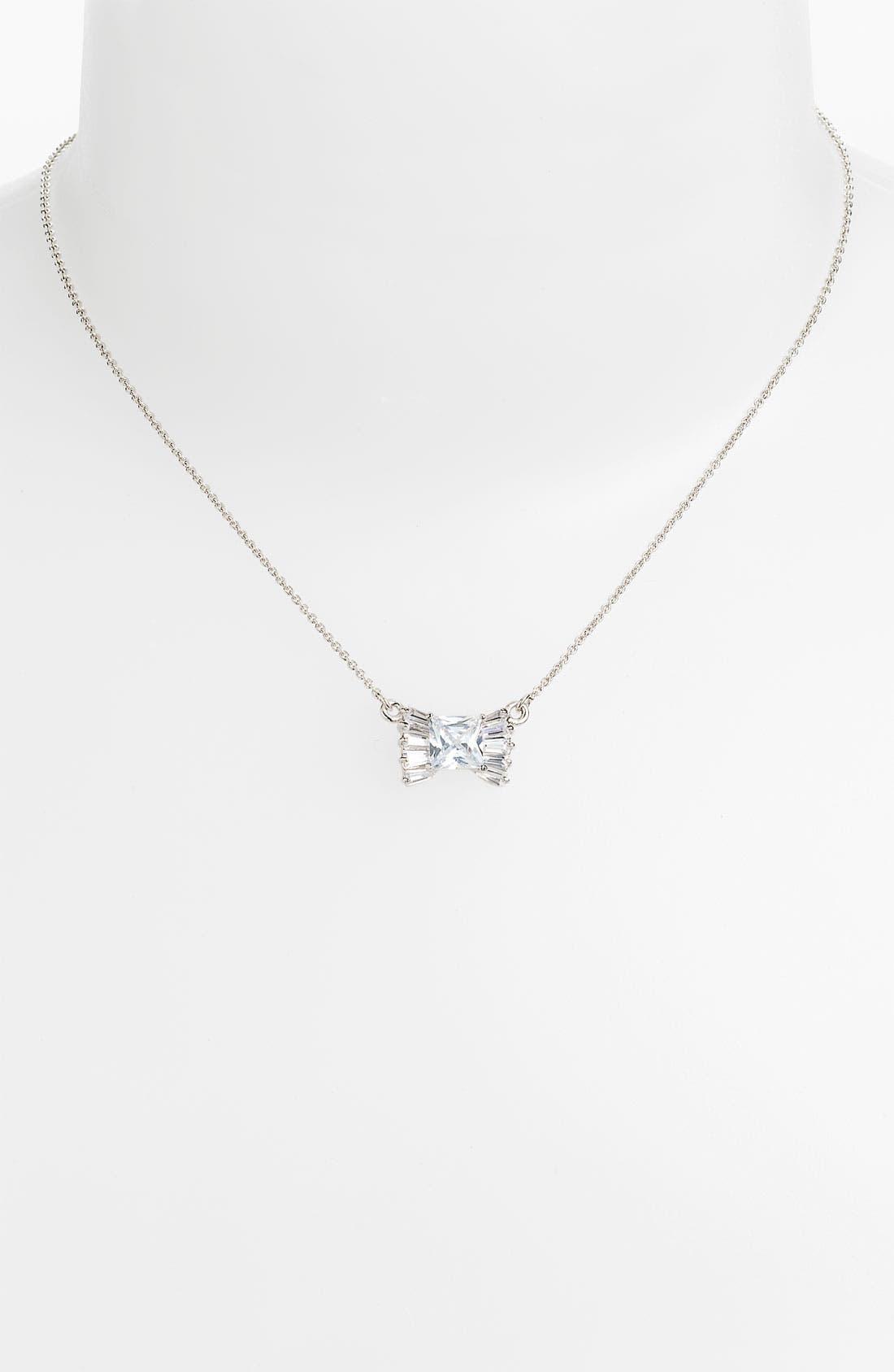 Main Image - kate spade new york 'le soir' bow pendant necklace