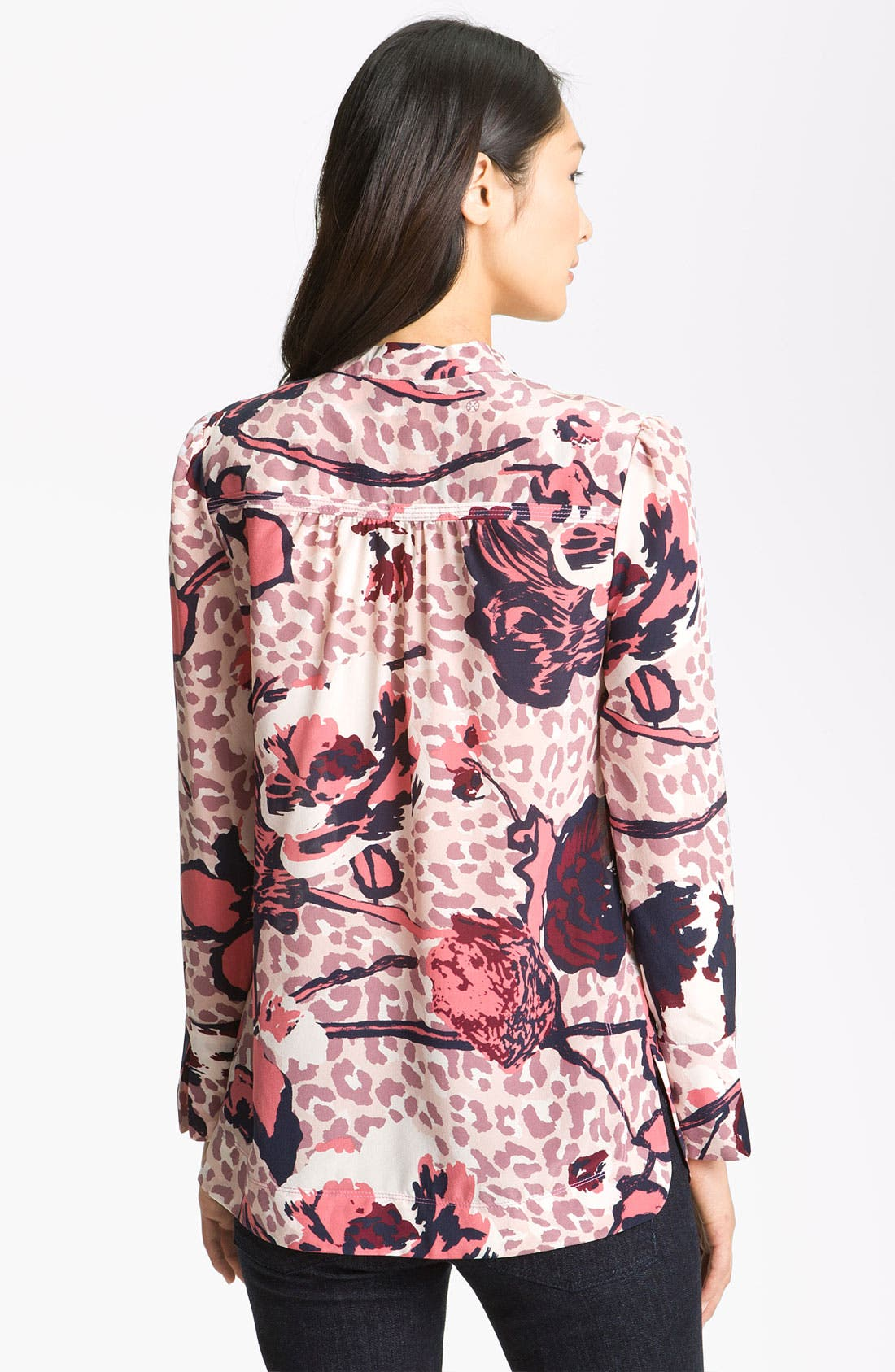 Alternate Image 2  - Tory Burch 'Whitfiels' Print Silk Top