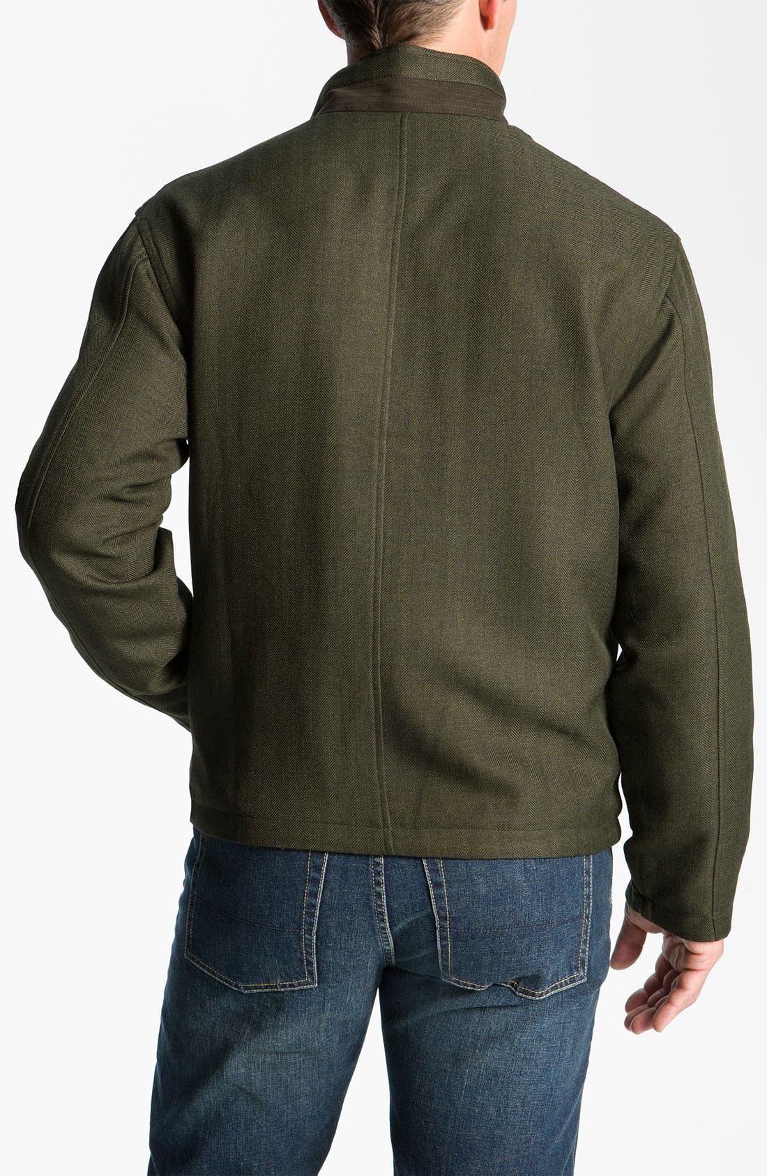 Alternate Image 2  - Cutter & Buck 'Weathertec Bearsden' Reversible Jacket (Big & Tall)