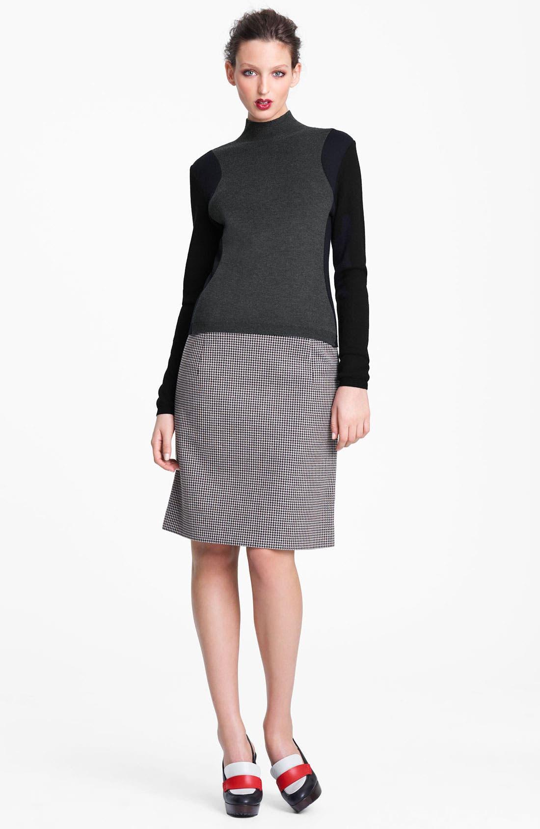 Alternate Image 4  - Marni Edition Mock Neck Colorblock Sweater