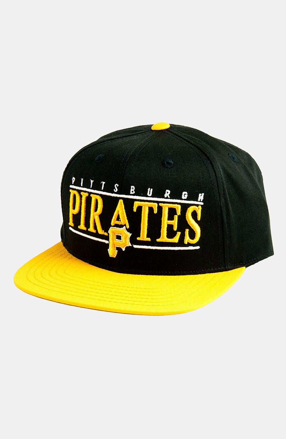 Alternate Image 1 Selected - American Needle 'Pittsburgh Pirates - Nineties' Twill Snapback Baseball Cap