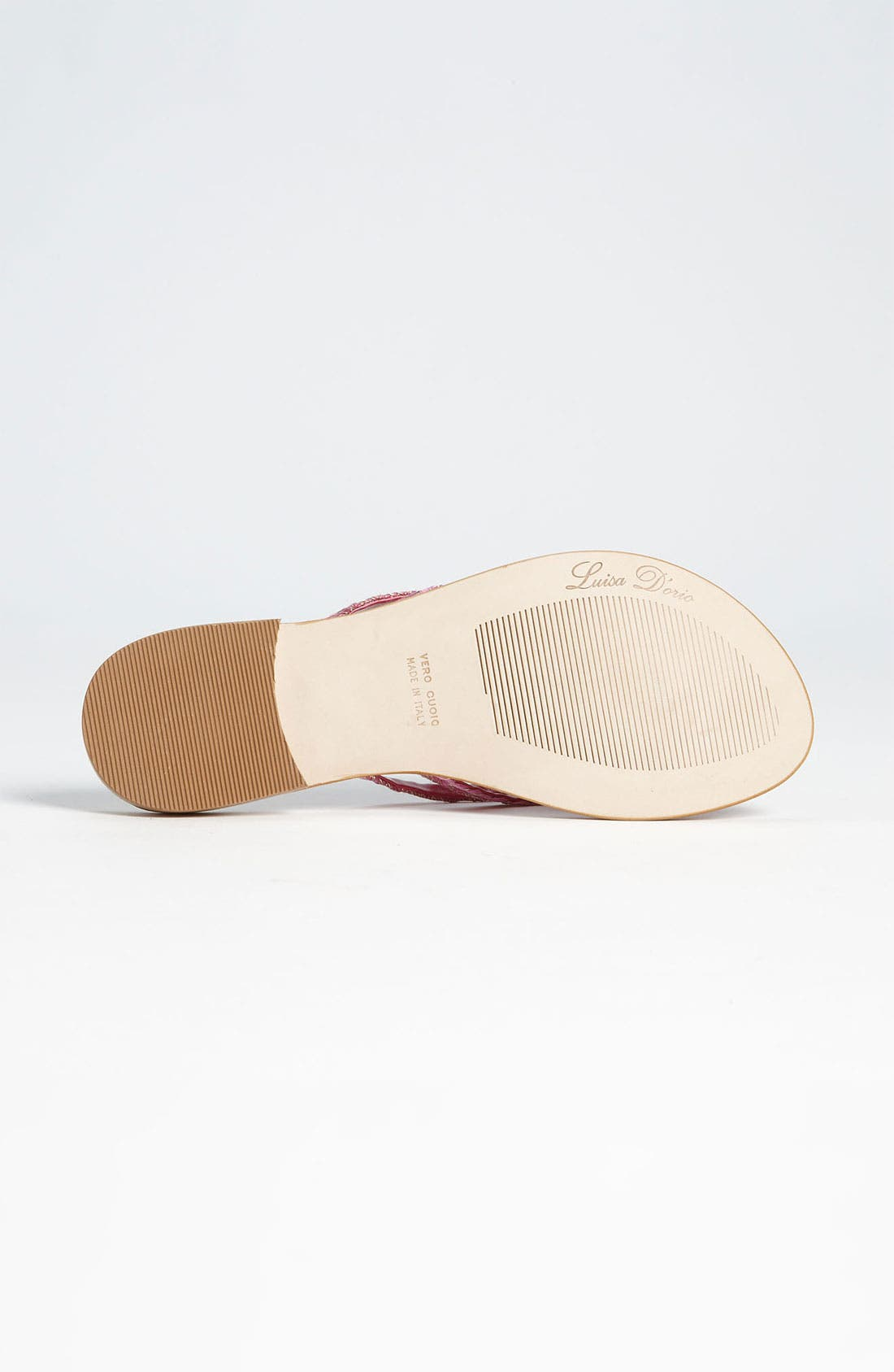 'Garland' Sandal,                             Alternate thumbnail 4, color,                             Fuchsia