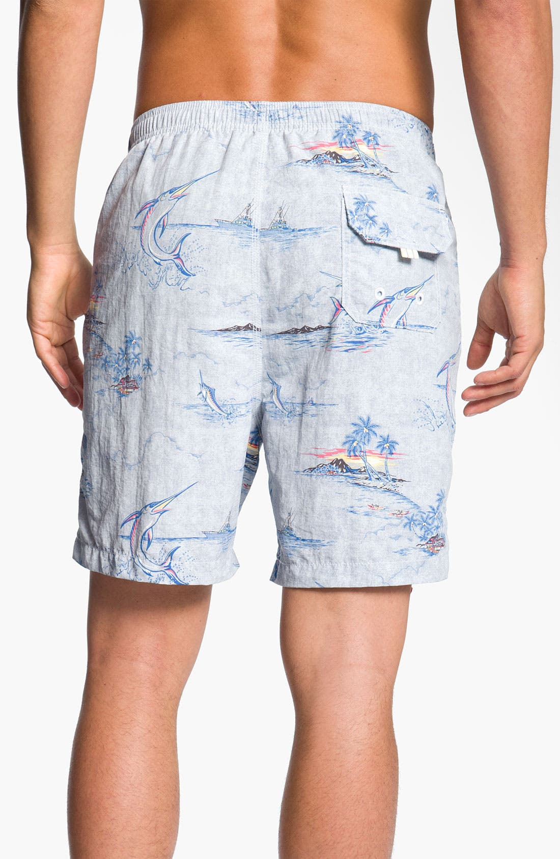 Alternate Image 2  - Tommy Bahama Relax 'Marlin and Me' Swim Shorts