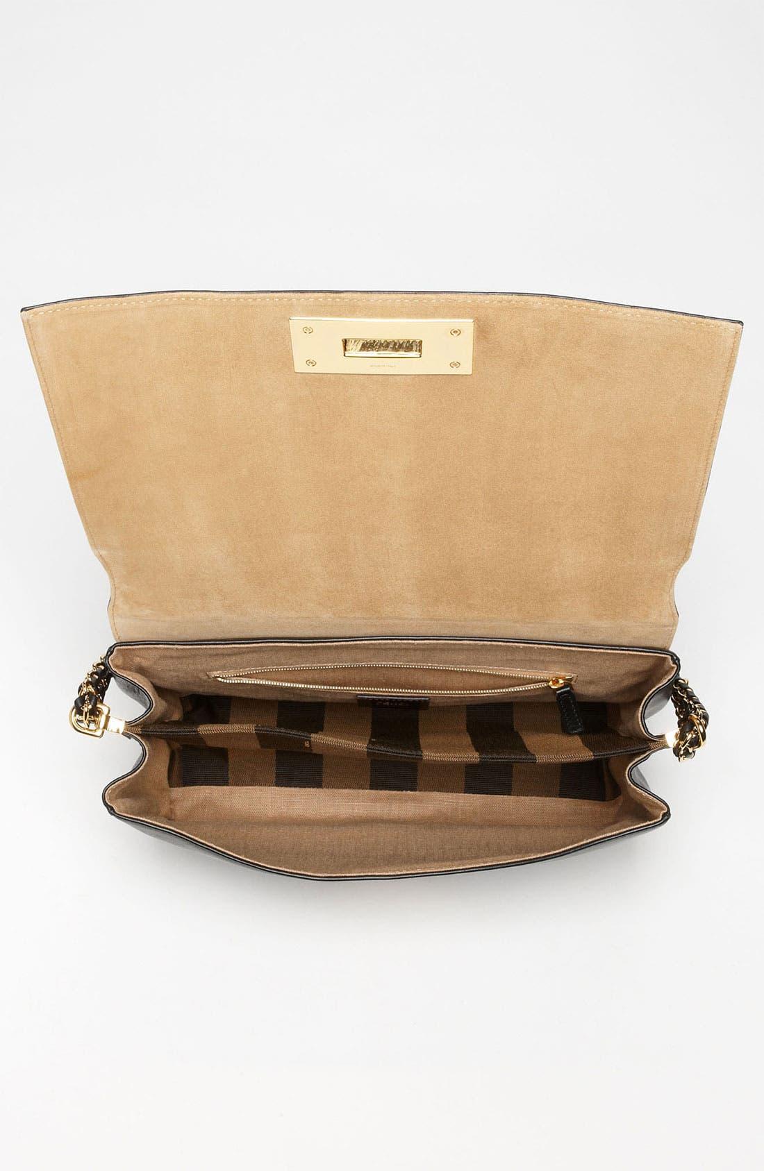 Alternate Image 3  - Fendi 'Paris Pequin - Large' Leather Shoulder Bag
