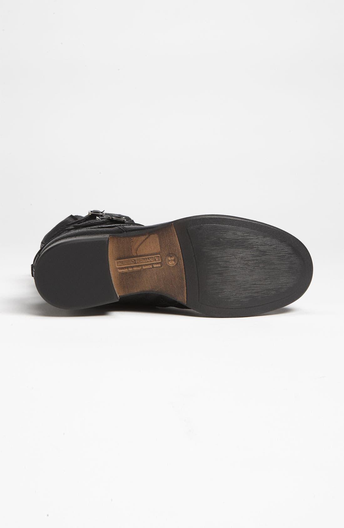 Alternate Image 4  - Alberto Fermani Ankle Strap Short Boot