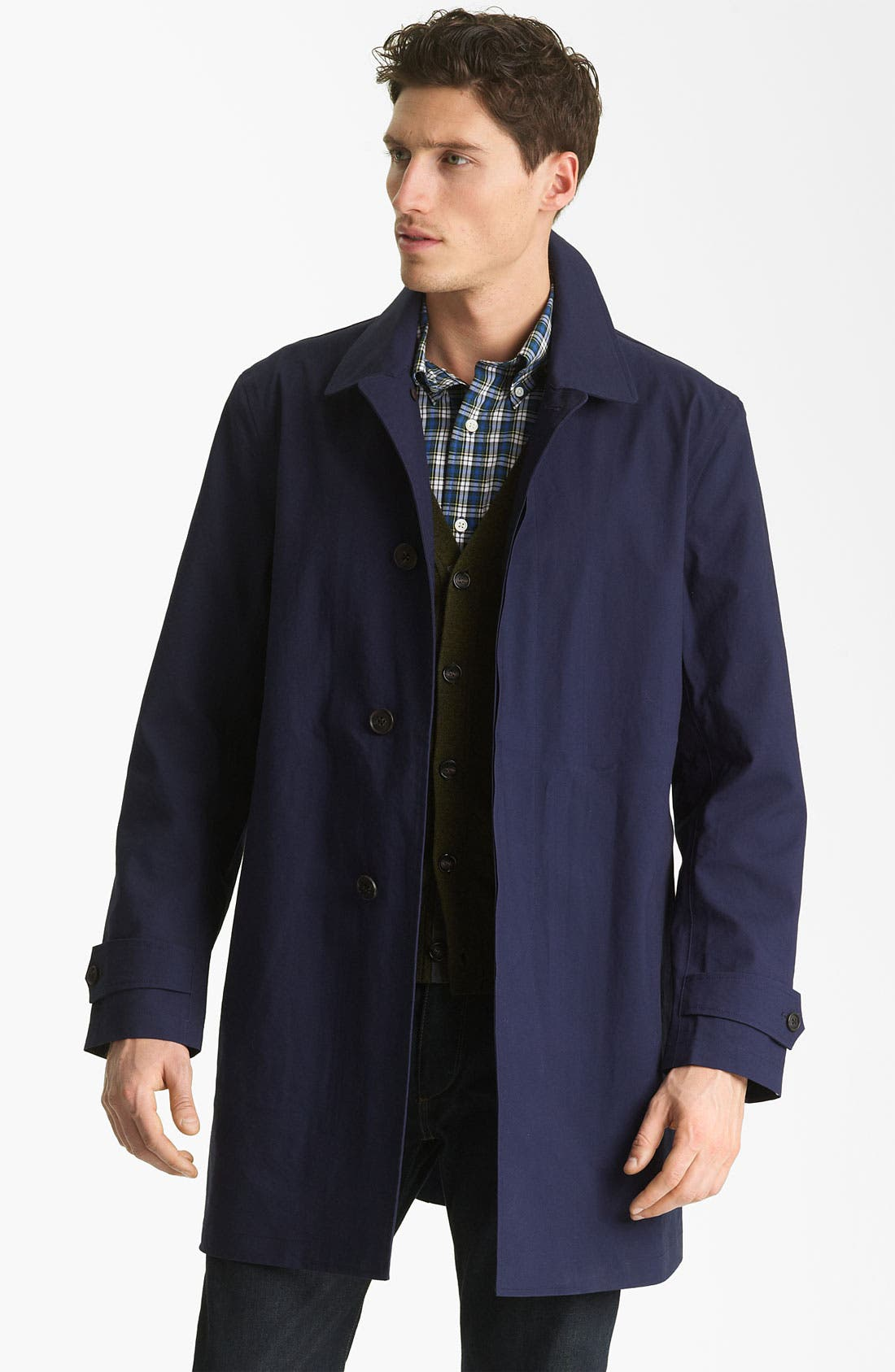 Alternate Image 1 Selected - Jack Spade Bonded Raincoat