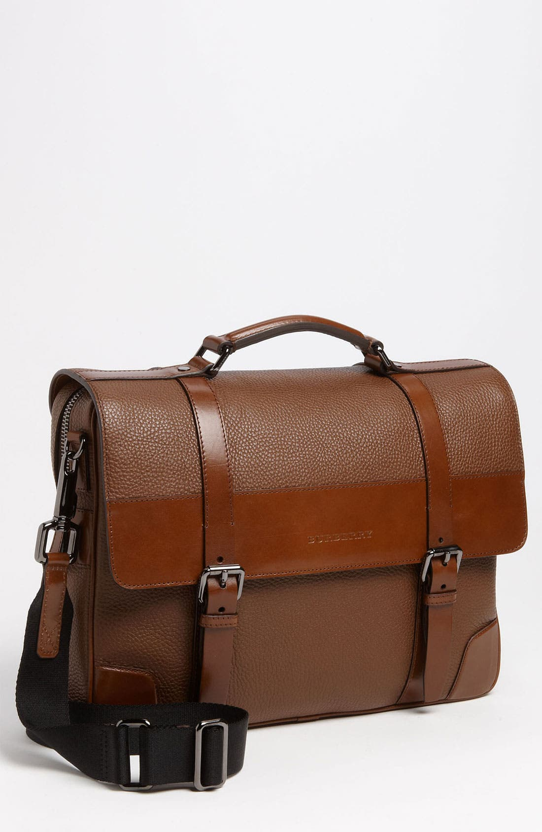 Alternate Image 1 Selected - Burberry Pebbled Briefcase