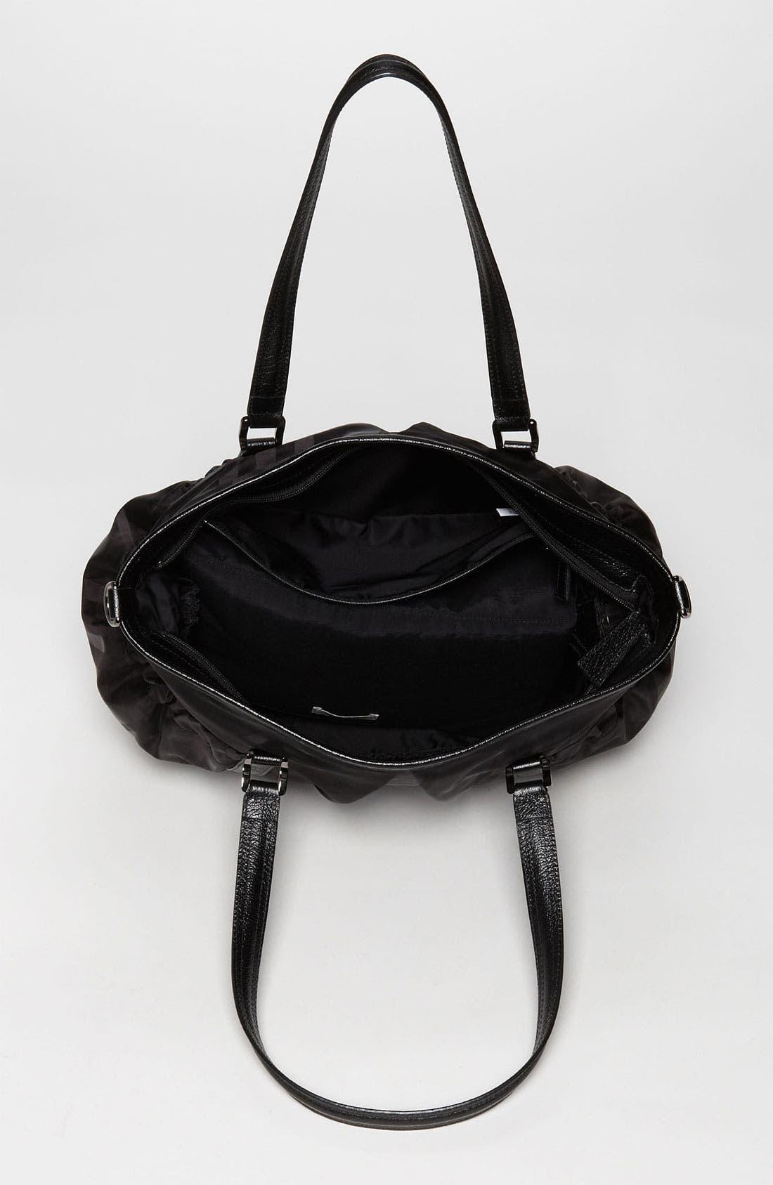 Alternate Image 3  - Burberry Check Print Diaper Bag