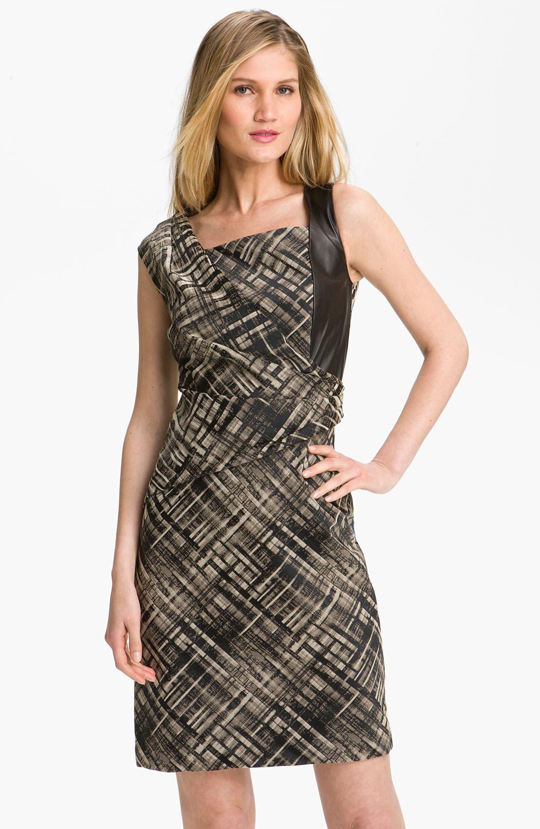 Alternate Image 1 Selected - Lafayette 148 New York 'Vania Magna Jacquard' Sheath Dress