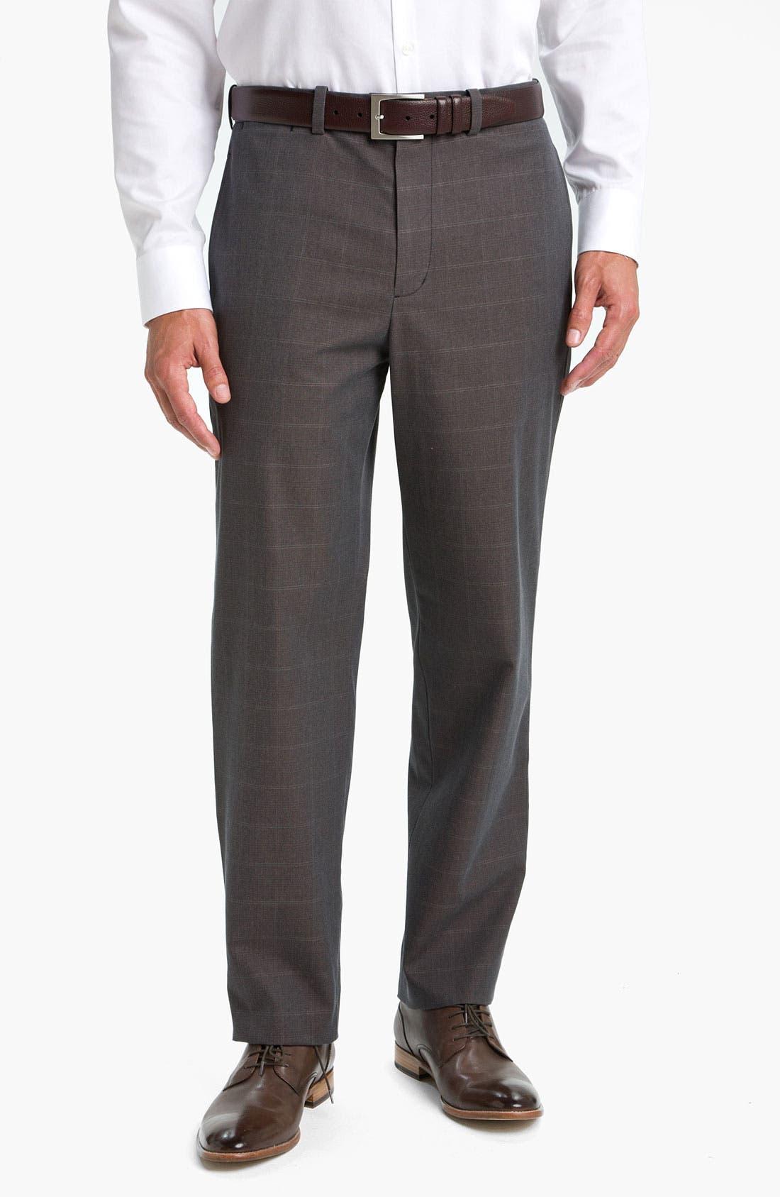 Main Image - John W. Nordstrom® Smartcare™ Supima® Cotton Pants