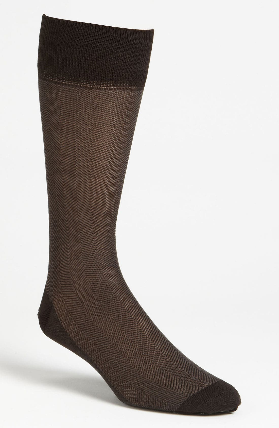 Alternate Image 1 Selected - Calibrate Herringbone Socks
