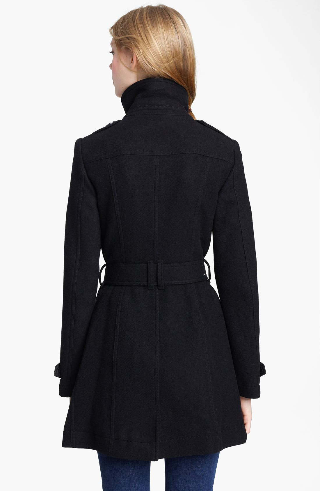 Alternate Image 2  - Burberry Brit 'Charcottley' Double Breasted Coat
