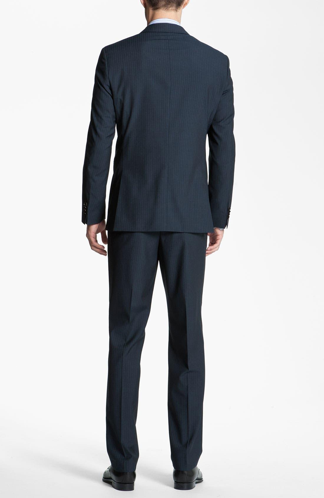 Alternate Image 3  - BOSS Black 'James/Sharp' Trim Fit Suit
