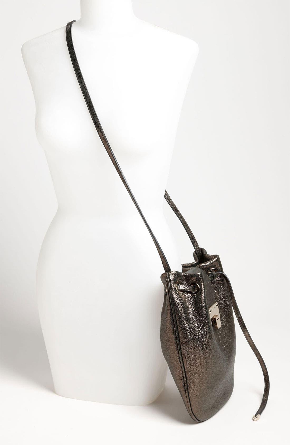 Alternate Image 2  - Jimmy Choo 'Ryad' Glitter Leather Crossbody Bag