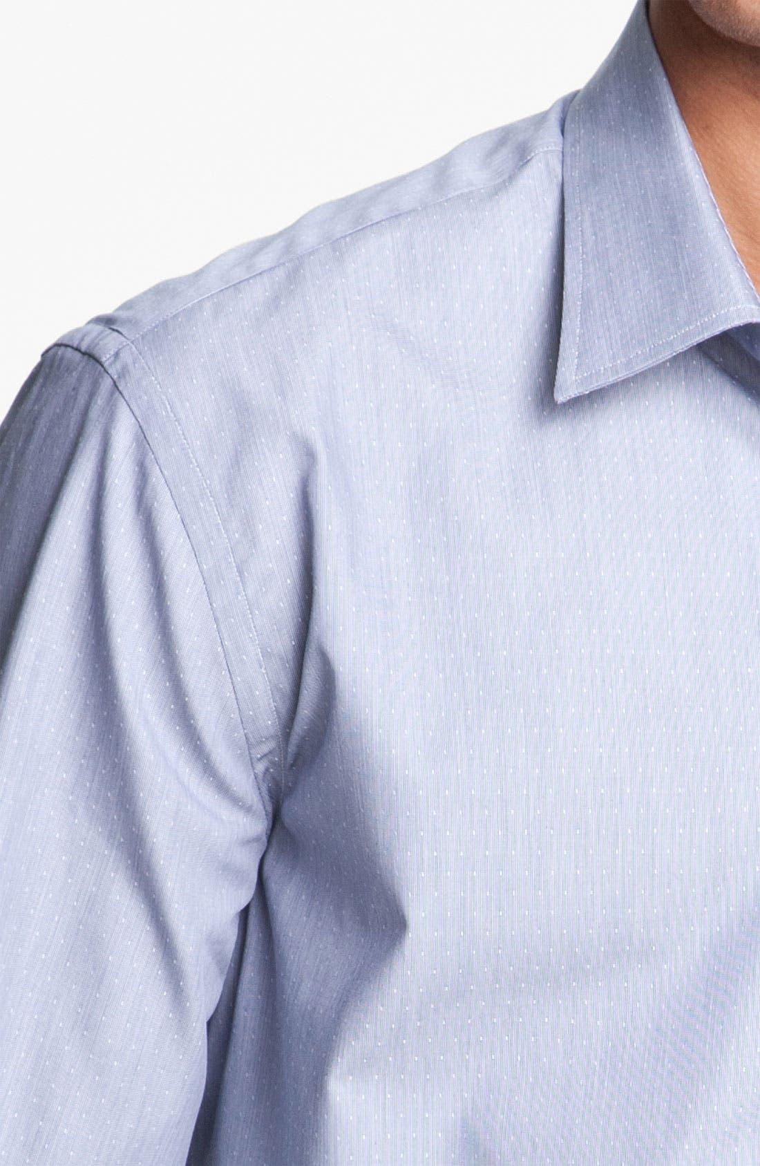 Alternate Image 3  - Paul Smith London Microdot Dress Shirt