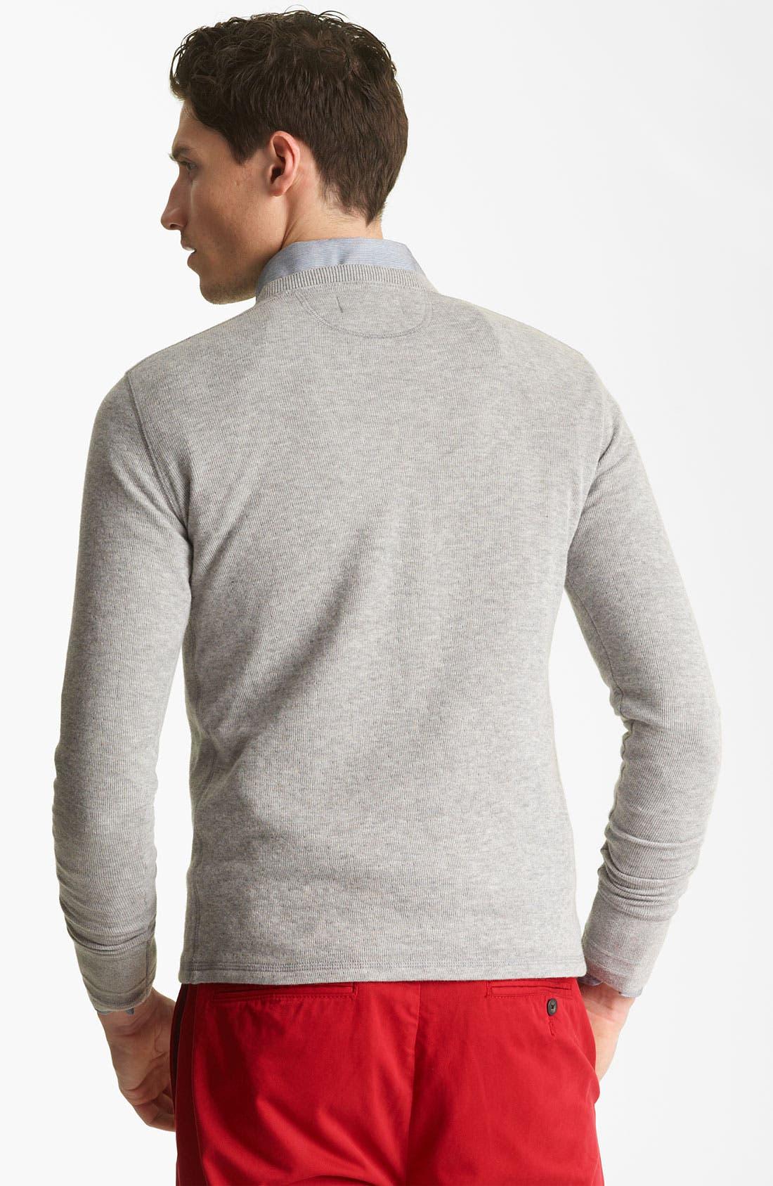Alternate Image 2  - Jack Spade Dual Layer Sweatshirt
