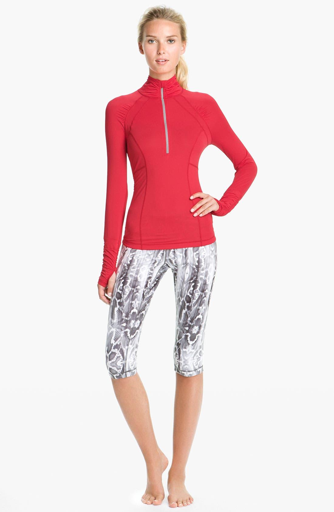Alternate Image 4  - Zella 'Micro Jersey' Half Zip Pullover