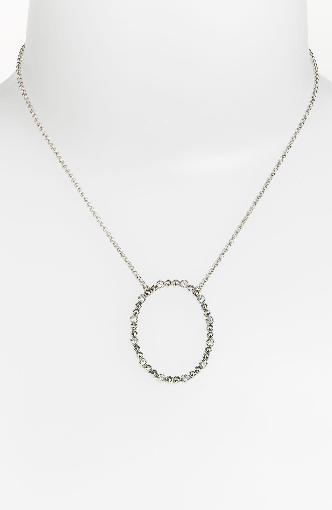 Alternate Image 1 Selected - Judith Jack 'Starlight' Open Pendant Necklace