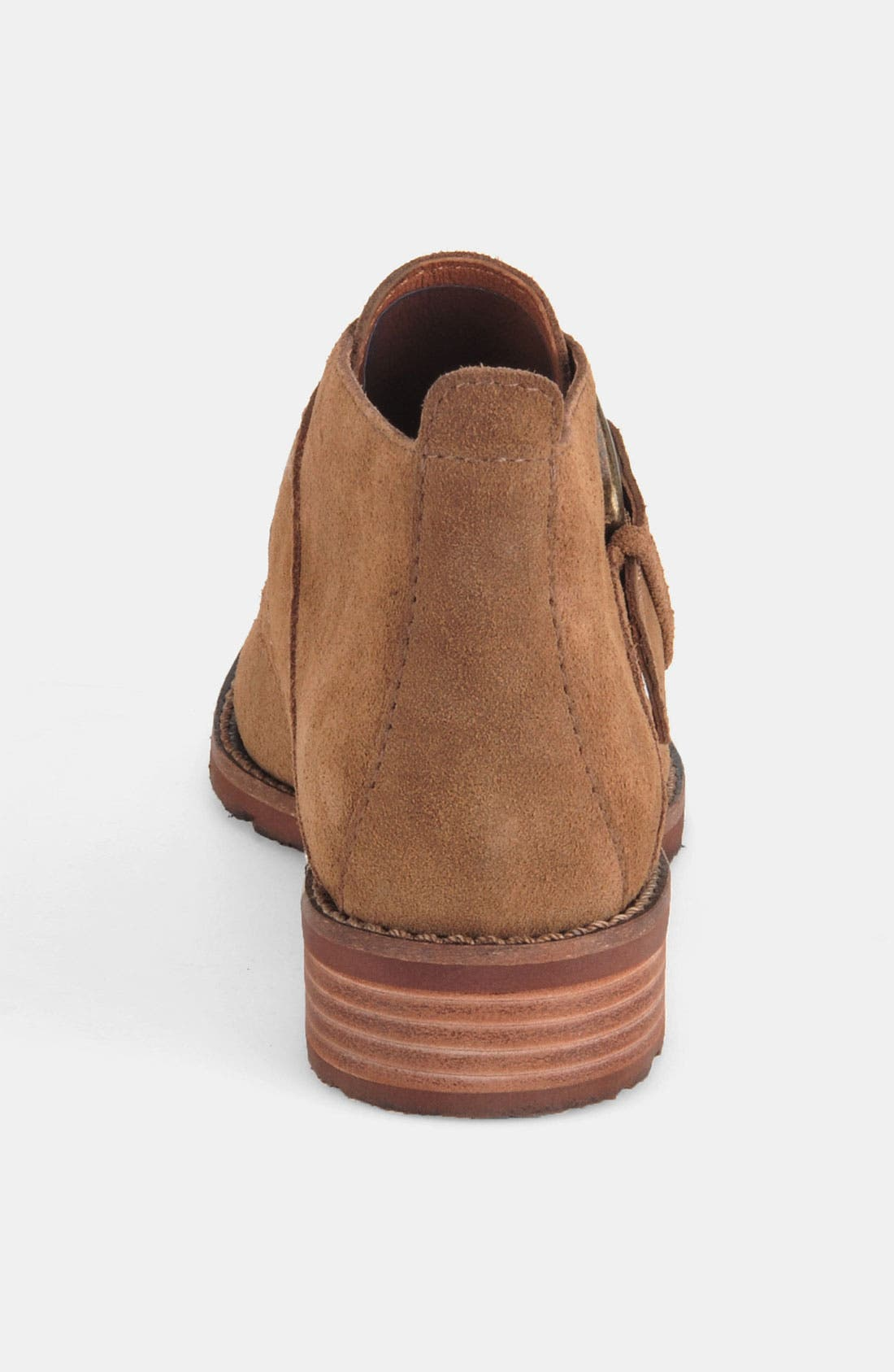 'Boone' Bootie,                             Alternate thumbnail 3, color,                             Earth Suede