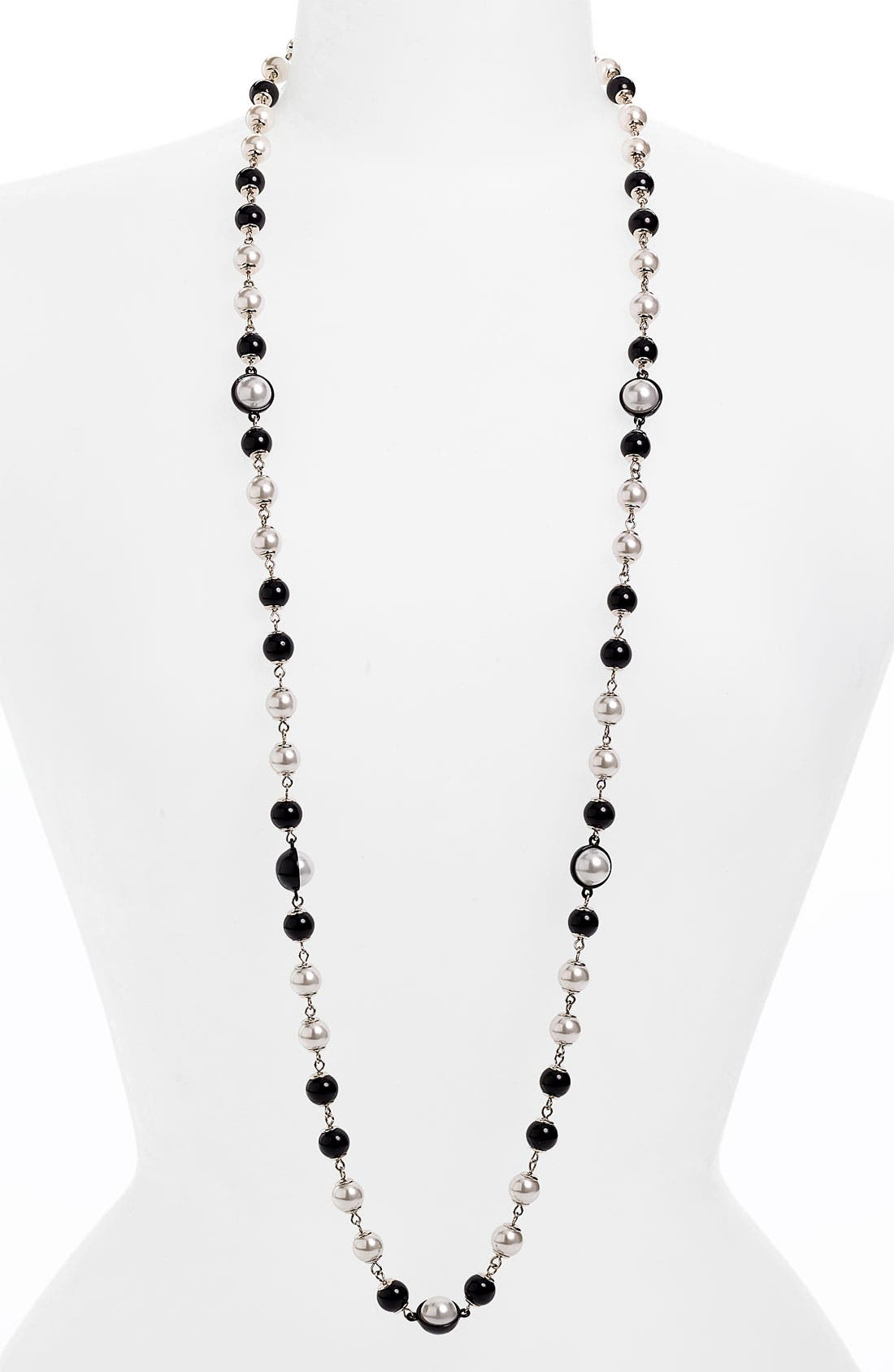 Alternate Image 1 Selected - Anne Klein Long Necklace